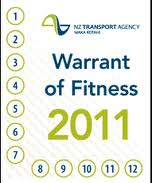 Warrant of fitness tyre rules