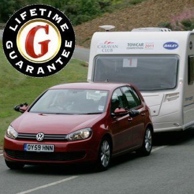 Megatyre Gives a Lifetime Guarantee* on all our Towbars