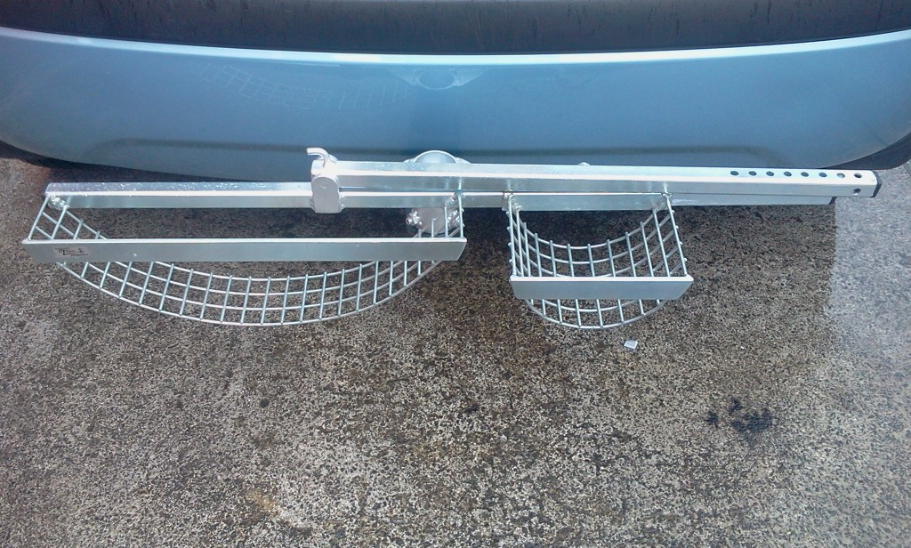 Wheelchair Rack for fitting on to towbar