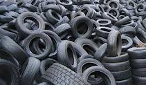 Old tyres