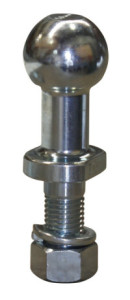 Long Neck, High Rise Towball for use with Alko couplings