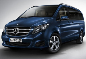 The New Mercedes V Class MPV is fitted with Hankook Ventus Prime and Vantra Tyres
