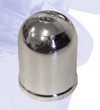 Megatyre Chrome Towball cover towbar accessories enhance the look of your towbar and protect your clothes from grease and dirt.