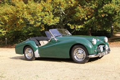 Classic Tyres For A Classic Roadster