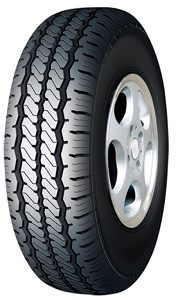 Super tough, high mileage Doublestar DS805 light truck tyre.